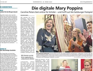 Großes Kino: Caroline mit Magie im Merkur